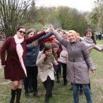 Веселі гаївки у Шевченківському гаю
